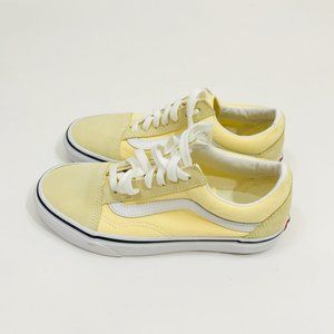 Vans Ward Canvas Suede Skate Shoes Sneakers Yellow